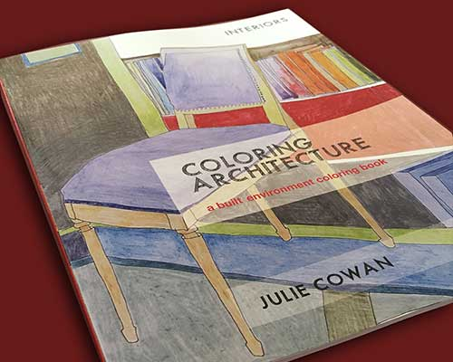 Coloring Architecture Coloring Book cover